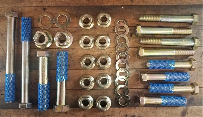 6x6 shock hardware set