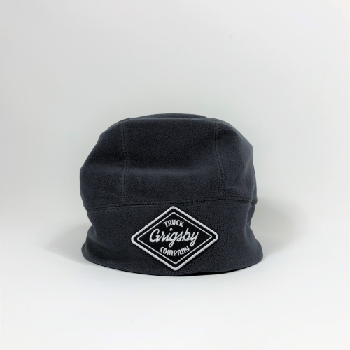 Raised Front Profile of Smoke Beanie